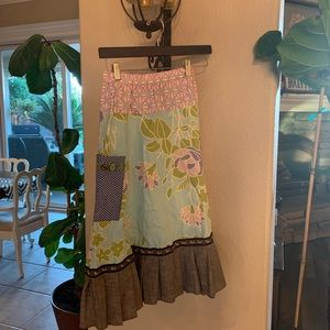 Matilda Jane fun patterned unique skirt!